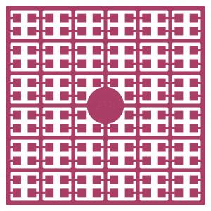 Pixelhobby Midi Perler 218 Mørk Cerise 2x2mm - 144 pixels