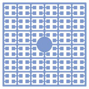 Pixelhobby Midi Perler 216 Lys Turkis blå 2x2mm - 144 pixels