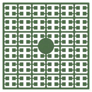 Image of   Pixelhobby Midi Perler 211 Mørk Jade Grøn 2x2mm - 144 pixels