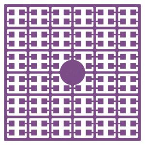 Pixelhobby Midi Perler 207 Mørk Violet 2x2mm - 144 pixels