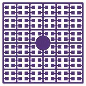 Image of   Pixelhobby Midi Perler 206 Ekstra mørk Violet 2x2mm - 144 pixels