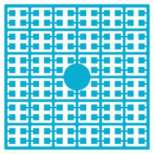 Pixelhobby Midi Perler 198 Lys Marineblå 2x2mm - 144 pixels