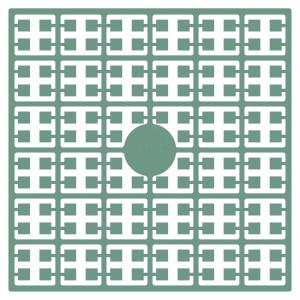 Image of   Pixelhobby Midi Perler 194 Skifergrøn 2x2mm - 144 pixels