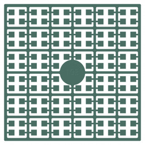 Image of   Pixelhobby Midi Perler 193 Lys Støvet Grågrøn 2x2mm - 144 pixels
