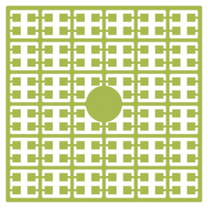 Pixelhobby Midi Perler 189 Ekstra lys Avocado 2x2mm - 144 pixels