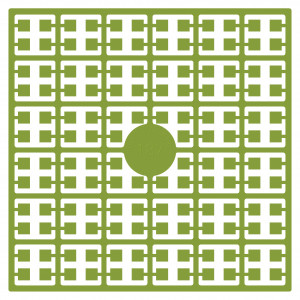 Image of   Pixelhobby Midi Perler 187 Lys Avocado 2x2mm - 144 pixels