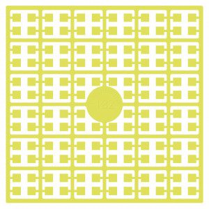 Image of   Pixelhobby Midi Perler 182 Lys Citrongul 2x2mm - 144 pixels
