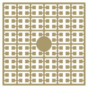 Image of   Pixelhobby Midi Perler 175 Hasselnødsbrun 2x2mm - 144 pixels