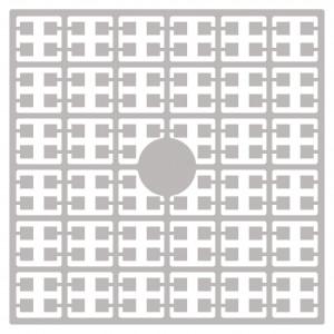 Pixelhobby Midi Perler 173 Perlegrå 2x2mm - 144 pixels