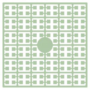 Image of   Pixelhobby Midi Perler 163 Ekstra lys Pistiaciegrøn 2x2mm - 144 pixels