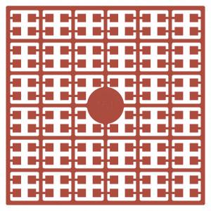 Image of   Pixelhobby Midi Perler 161 Lys Terracotta 2x2mm - 144 pixels