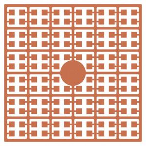 Image of   Pixelhobby Midi Perler 158 Lys Koralrosa 2x2mm - 144 pixels