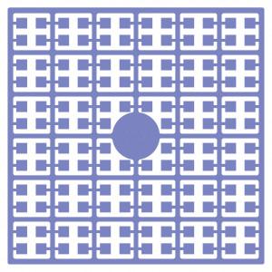 Image of   Pixelhobby Midi Perler 152 Blålilla 2x2mm - 144 pixels