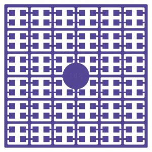 Image of   Pixelhobby Midi Perler 148 Meget mørk Lilla 2x2mm - 144 pixels