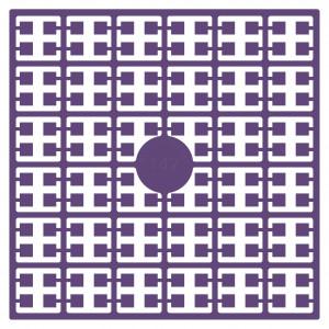 Image of   Pixelhobby Midi Perler 147 Mørk Støvet Violet 2x2mm - 144 pixels