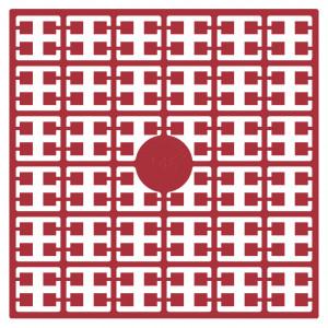 Image of   Pixelhobby Midi Perler 146 Mørk Rose 2x2mm - 144 pixels