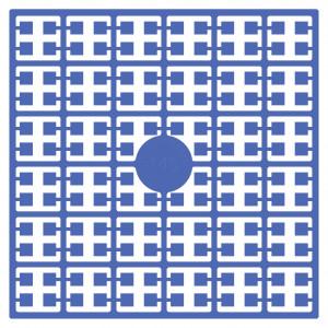 Image of   Pixelhobby Midi Perler 145 Lys Marineblå 2x2mm - 144 pixels