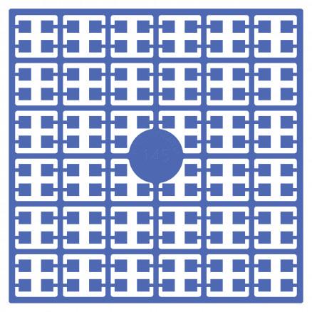 Pixelhobby Midi Perler 145 Lys Marineblå 2x2mm - 144 pixels thumbnail