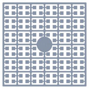 Image of   Pixelhobby Midi Perler 141 Lys Stålgrå 2x2mm - 144 pixels