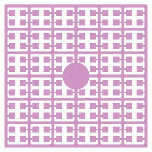 Image of   Pixelhobby Midi Perler 139 Støvet Lilla 2x2mm - 144 pixels