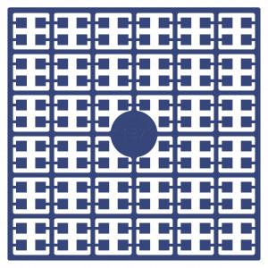 Image of   Pixelhobby Midi Perler 137 Mellem Marineblå 2x2mm - 144 pixels