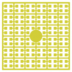 Pixelhobby Midi Perler 133 Citrongul 2x2mm - 144 pixels