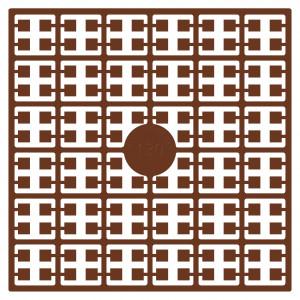 Pixelhobby Midi Perler 130 Mørk Mahognibrun 2x2mm - 144 pixels