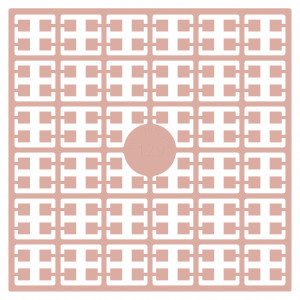 Image of   Pixelhobby Midi Perler 129 Lys Pink 2x2mm - 144 pixels