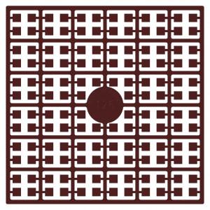 Pixelhobby Midi Perler 126 Rust Rødbrun 2x2mm - 144 pixels
