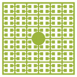 Image of   Pixelhobby Midi Perler 118 Lime Grøn 2x2mm - 144 pixels