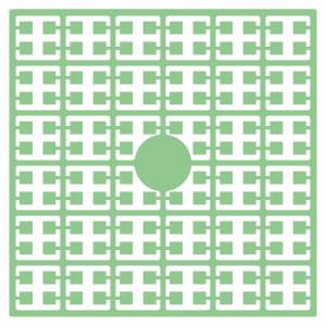 Image of   Pixelhobby Midi Perler 116 Lys Grøn 2x2mm - 144 pixels