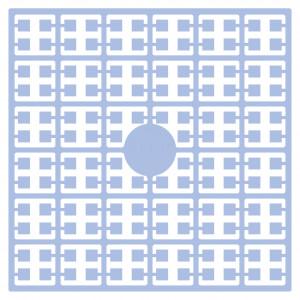 Image of   Pixelhobby Midi Perler 114 Lys Babyblå 2x2mm - 144 pixels