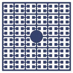 Image of   Pixelhobby Midi Perler 113 Mørk Gråblå 2x2mm - 144 pixels