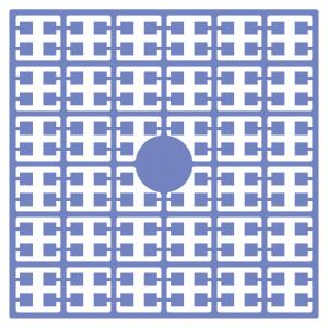 Pixelhobby Midi Perler 112 Gråblå 2x2mm - 144 pixels