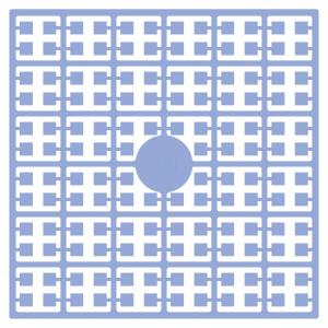 Image of   Pixelhobby Midi Perler 111 Lys Gråblå 2x2mm - 144 pixels