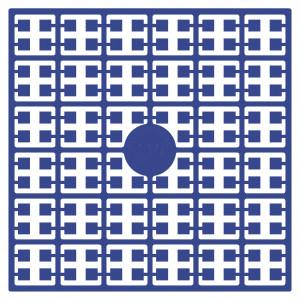 Image of   Pixelhobby Midi Perler 110 Mørk Blå 2x2mm - 144 pixels