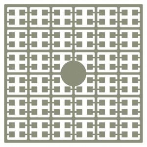 Image of   Pixelhobby Midi Perler 108 Mørk Beige 2x2mm - 144 pixels