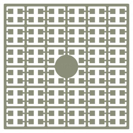 Pixelhobby Midi Perler 108 Mørk Beige 2x2mm - 144 pixels thumbnail