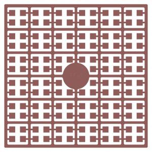 Image of   Pixelhobby Midi Perler 104 Mørk hudfarve 2x2mm - 144 pixels