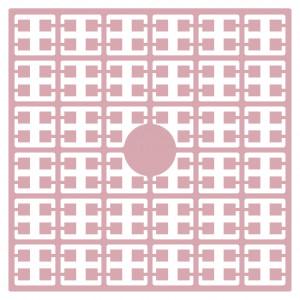 Pixelhobby Midi Perler 103 Lys Rosa 2x2mm - 144 pixels