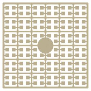 Image of   Pixelhobby Midi Perler 101 Lys Beige 2x2mm - 144 pixels