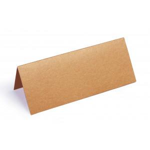 Metallic Bordkort Kobber 10x4cm 250g - 10 stk