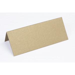 Metallic Bordkort Guld 10x4cm 250g - 10 stk