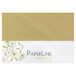 Metallic Kuvert/Konvolut Guld C6 120g - 10 stk