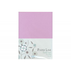 Kort Foldet Lavendel A6 200g - 10 stk