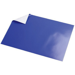 Glanspapir Blå 50x35cm 80g - 5 ark