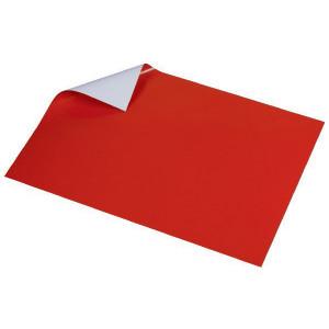 Glanspapir Rød 50x35cm 80g - 5 ark