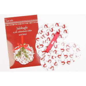 Image of   Lav selv Julekugle med bånd
