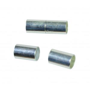 Smykke Magnetlås Sølv 6x22mm - 2 stk