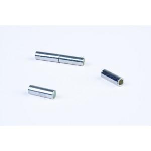Smykke Magnetlås Sølv 2x18mm - 2 stk